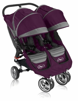 Baby Jogger City Mini Double 2011 Purple