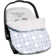 JJ Cole Infant Lite Bundle Me Gray Circle