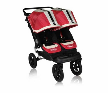 Baby Jogger City Elite Double (2011) Red