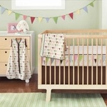 Skip Hop Pretty Pennant Bedding Set