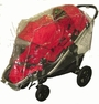 Sasha's Baby Jogger City Select Stroller Double Rain Cover