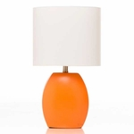 Glenna Jean Echo Orange Table Lamp