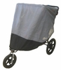Sasha's BOB Revolution SE / Stroller Strides Fitness Duallie Jogger Sun, Wind and Insect Cover