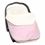 JJ Cole Infant Lite Bundle Me Pink Leaf
