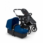Bugaboo Donkey Mono Stroller in Black/Royal