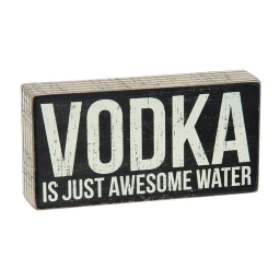 Awesome Water Box Sign