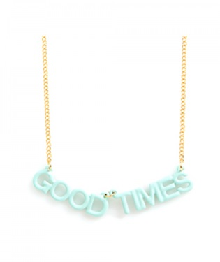 Good Times Party Banner Necklace