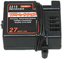 Traxxas�Receiver - T-Maxx/Slayer 3-Ch 27mhz No Xtal