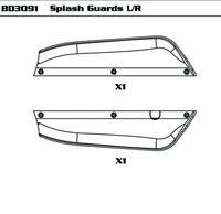 Splash Guards L/R
