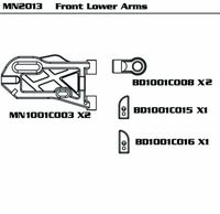 Front Lower Arms (SET)