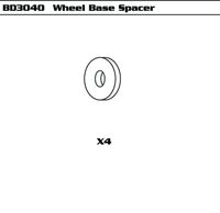Wheel Base Spacer