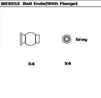 Ball Ends(With Flange)