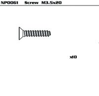 3.5*20 ST Screw(10pc/set)
