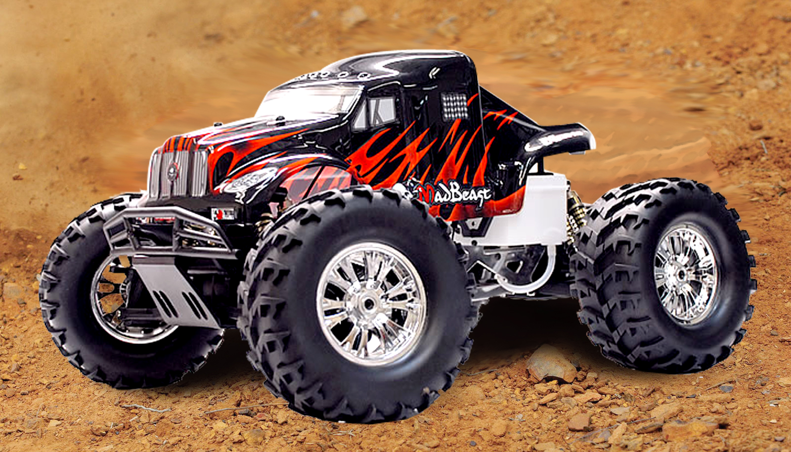 1/8 MadBeast Monster Truck RTR