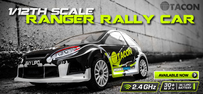 1/12th Scale Ranger Rally Car