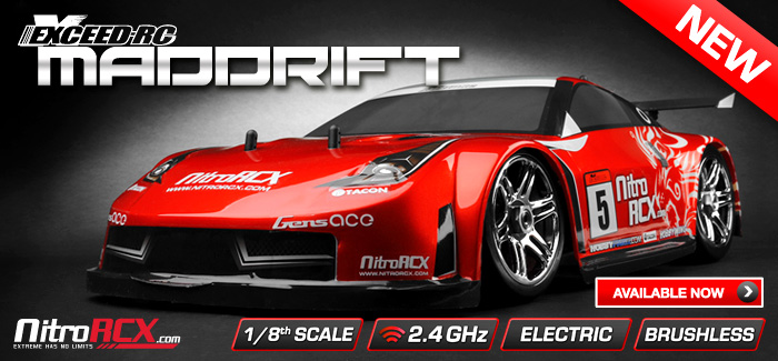 New ExceedRC Drift Cars