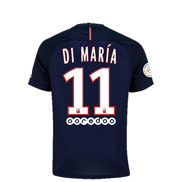 PSG 16/17 DI MARIA YOUTH HOME SOCCER JERSEY