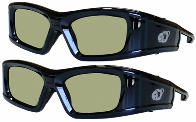 Active TV 3D Glasses 2 Pack