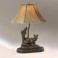 Female Fox Lamp