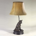 Waiting Fox Lamp