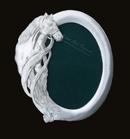 Oval Horse Picture Frame