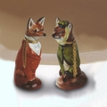 Mr & Mrs Fox Scent Bottles