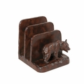 Burlwood Business Bear Letter Holder