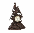 Large, Detailed Pheasant Table or Mantle Clock.