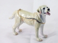 "Kingspoint ""Butterscotch the Labrador"" Trinket Box & Necklace"