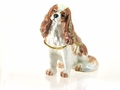 "KP ""Liz - Fawn King Charles Spaniel"" Box/Necklace"