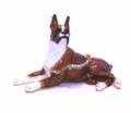 "Kingspoint ""Bruiser the Boxer"" Trinket Box and Necklace"