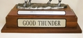 National Champion Trophy Nameplate
