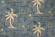 Tommy Bahama Shower Curtain The Tropics Blue