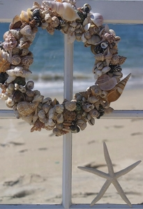 Seashell Wreath Multi Shell