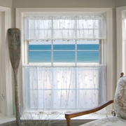 Coastal Curtains White Shell