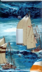 Midnight Sail Switchplates