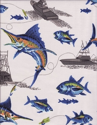 Blue Marlin Bedding