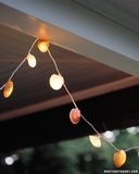 Seashell String of Lights clam shell
