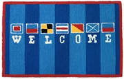 Nautical Welcome Rug