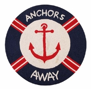 Nautical Anchors Away Rug