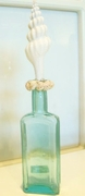 Vintage Beach Bottle White Spindle