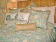 Seashell Quilted Bedding Cape Cod