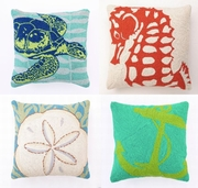 Coastal Hook Pillows