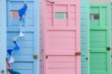 Colorful Beach Cottage Decor