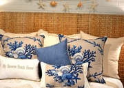 Blue Coastal Pillows Northport