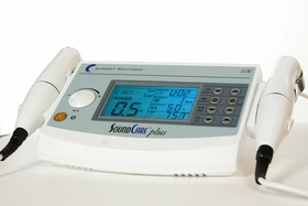 Professional Sound Care Plus Clinical Ultrasound Unit with 2 Sound Heads - Pain Relief and Fast Advanced Healing