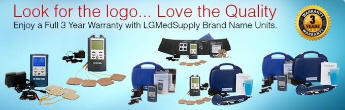 """LG-PROELITE"" TENS, Muscle Stimulator, and Ultrasound Unit Complete Treatment System"
