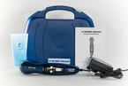 "LGMedSupply ""PRO SERIES"" Ultrasound Unit with Carrying Case, Gel, and AC Adapter"