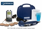 "BACKORDERED TILL 3/1 ""LG-PROCOMPLETE"" TENS, Muscle Stimulator, and Ultrasound Unit Complete Treatment System"
