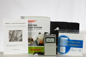 "OUT OF STOCK -   ""Bakwel"" Complete Lower Back Pain Relief System (TENS Unit Included)"